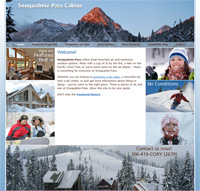 Snoqualmie Pass Cabins